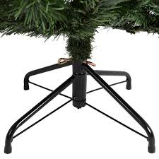 artificial christmas tree stand artificial christmas tree green imperial pine deluxe