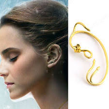 ear cuff beauty and the beast earrings ear cuff jewelry gold