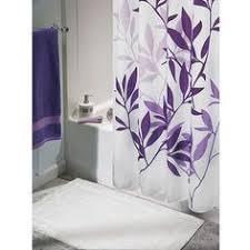 Purple Shower Curtain Sets - lavender purple and gray wall decor set bathroom art set of