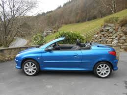 peugeot convertible peugeot 206 2 0 allure car for sale llanidloes powys mid wales