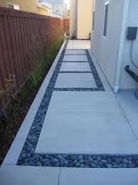 Backyard Cement Ideas Impressive Backyard Cement Patio Ideas Back Yard Concrete