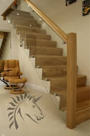 Oak Banisters And Handrails Stair Banister Designs Stairs Wood Balusters Stained Glass Rustic