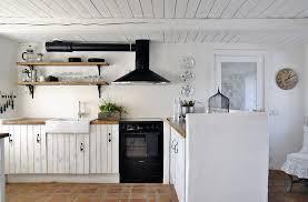 cuisine blanche sol noir cuisine blanche et moderne ou classique en 55 idées