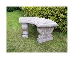 furniture modern outdoor benches curved outdoor bench garden