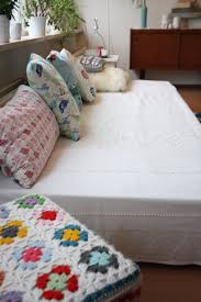 cool daybed cover in living room eclectic with handmade cushion