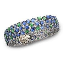 diamond bracelet with sapphire images Sapphire diamond bracelet jpg