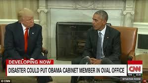 Barack Obama Cabinet Members Cnn Says Trump U0027s Death Would Lead To Democrat President Daily