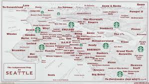 Seattle Sounder Train Map by Judgmental Maps Seattle Map Maps Pinterest Seattle Map