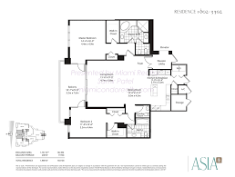 Brickell On The River Floor Plans Asia Condo Brickell Key 900 Brickell Key Blvd Miami Fl 33131