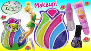 disney fairies tinkerbell makeup lip gloss palette lipstick
