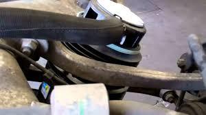 2003 mercedes e500 rear suspension air springs youtube