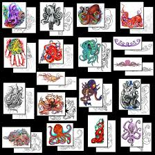 octopus tattoos what do they octopus tattoos designs