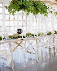 his and hers wedding chairs 25 lucite wedding ideas for the minimalist martha stewart