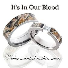 Country Wedding Rings by Camo Wedding Ideas Picmia