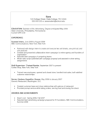 Example For Resume Writing by Examples Of Resumes Best Resume For Your Job Search Livecareer