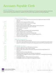 resume templates for accounts payable and receivable training accounts payable job duties accounts payable resume sle job