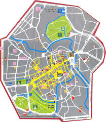 Map Of Siena Italy by In Italy Online Maps Of Treviso Vicenza And Verona