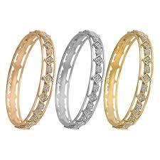 rose gold white gold bracelet images Three piece tricolor tri tone bangle bracelet 14k yellow gold rose jpg