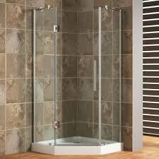 frameless neo angle shower enclosure bathroom zoom idolza