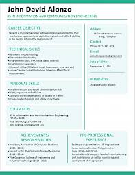 resume format 2013 sle philippines short how to write a one page resume format for freshers professional