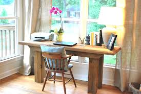 decoration inspiring sunroom designs with wood desk and desk