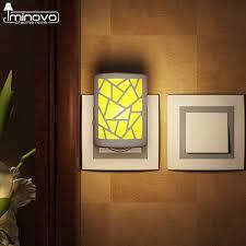 iminovo night light lamp hallway lighting pir human sensor living