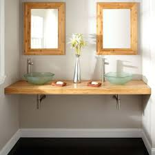 Dual Vanity Sink Bathrooms Design Bathroom Double Sink Countertop Regarding