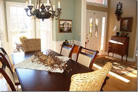 oyster bay dining room next to beige family room dining room