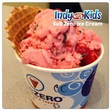 sub zero ice cream indianapolis liquid nitrogen food fun