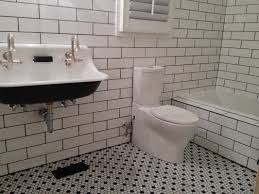Subway Tile Shower Walls Octagon by White Ceramic Subway Tile 4