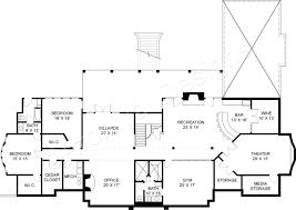 Basement Floor Plans With Bar Buckingham Neoclassic House Plan Luxury Floor Plan