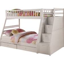 Bunk  Loft Beds Youll Love Wayfair - Pink bunk beds for kids