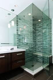 Green Tile Bathroom Ideas Tips For Small Rooms Glass Mosaic Tile Bathroom Green Glass Tile