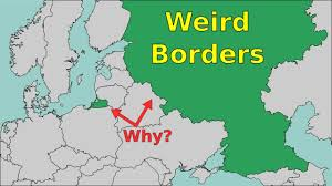 Map Of Spain And Surrounding Countries by Weird Borders Why Countries Have Pieces Detached Youtube