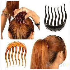 hair comb accessories hot useful women girl volume inserts hair clip bumpits bouffant