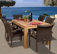 dining tables round teak dining table and chairs teak wood