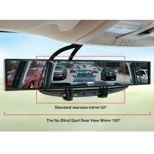 Where To Install Blind Spot Mirror The No Blind Spot Rear View Mirror Hammacher Schlemmer