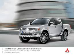 mitsubishi qatar walkinshaw performance u0027 now available on mitsubishi u0027s l200 pick up