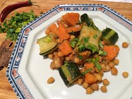 cuisiner courgette tajine végétarienne de courgette et pomme de terre douce envie de