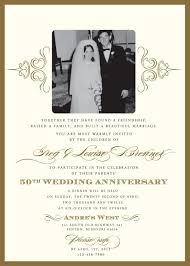 50th wedding anniversary invitation wording marialonghi com