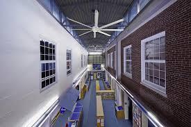 Architectural Ceiling Fans Essence A Quiet Stylish Hvls 8 14 U0027 Ceiling Fan Big Fans