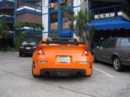 orange nissan 350z brutal nissan 350z acceleration sound youtube