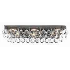 Candelabra Light Fixtures Brass And Glass Bath Vanity Light