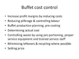 Sample Buffet Menus by Buffet 2