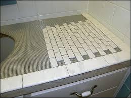 Bathroom Countertop Tile Ideas Bathroom Countertop Tile Ideas Northlight Co