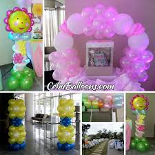Decorations For Sweet 16 Balloon Decorations For A Birthday Party Image Inspiration Of