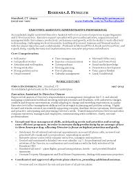 Sample Resume For Executive Administrative Assistant Program Assistant Resume Resume For Your Job Application