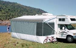Carefree Awning Awnings Screen Rooms By Carefree 16 U0027 Add A Room White