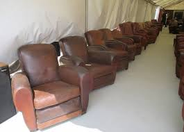 Vintage Leather Club Chair Brimfield May 2013 Kmid
