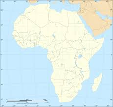 Blank Continents Map by 100 African Continent Map Africa Continent Stock Photos